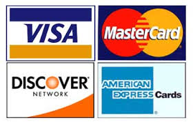 WE ACCEPT CREDIT & DEBIT CARDS