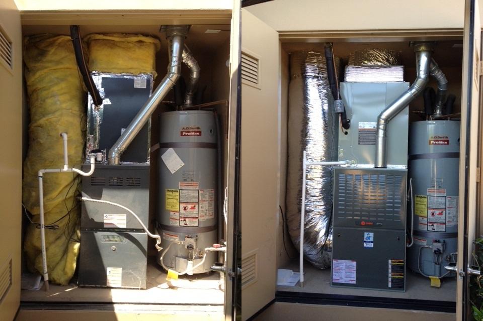 closet furnace